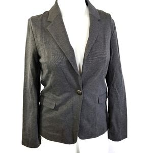 Maurices | Gray Blazer Top size L Large Charcoal